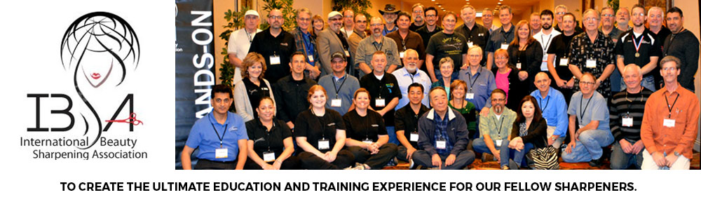 International Beauty Sharpening Association (IBSA) – Shear Sharpening Training